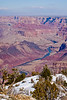 Grand Canyon and Zion : At the end of January 2007 I traveled with my father to the south rim of the Grand Canyon and then drove from there to Zion national park via the valley of vermillion cliffs. The cool dry air of winter and lack of crowds made it a particularily interesting experience.
